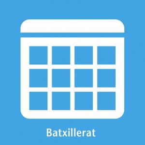 Calendari batxillerat