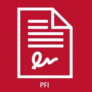 Icona circulars PFI
