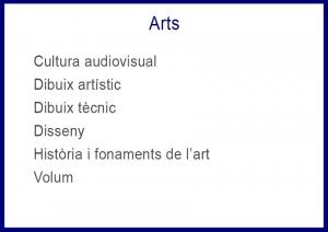 matèries arts