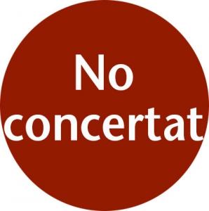no concertat
