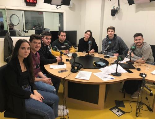 Alumnes de MiP fan un programa a Mataró Ràdio