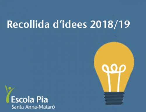 AMPA – Recollida idees 2018-19
