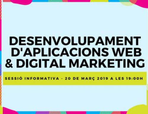 DAW & Digital Marketing – Sessió informativa