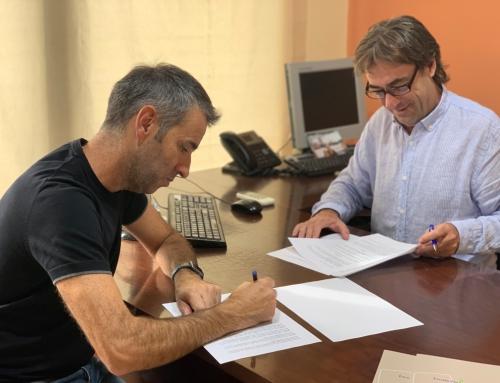 L'Escola Pia Mataró signa un conveni de col·laboració amb el Centre Atlètic Laietània