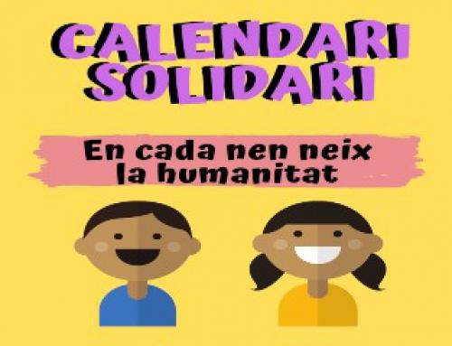 Reserva el teu calendari solidari!