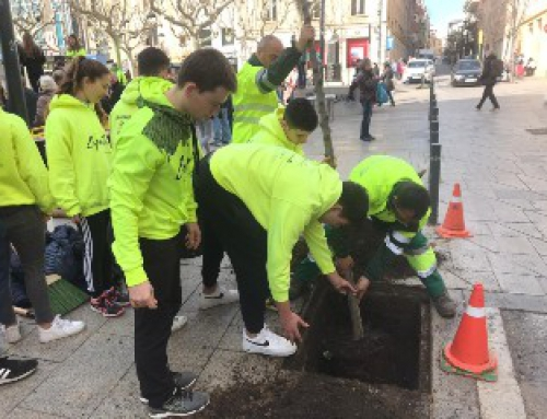 L'escola Pia Mataró planta un arbre pel DENIP