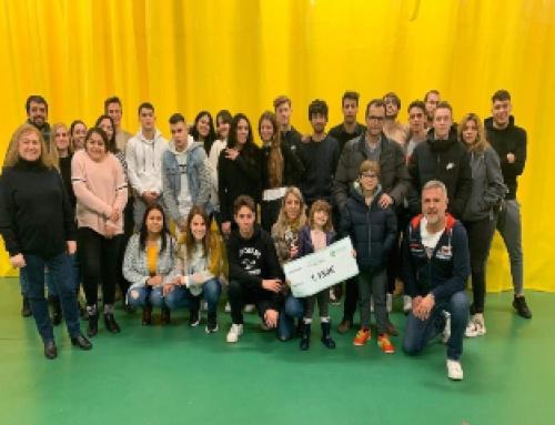 Els alumnes d'FP contribueixen amb l'Associació Proyecto Alpha