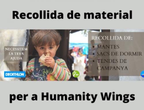 Recollida de material per a Humanity Wings