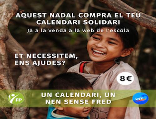 Reserva el teu calendari solidari