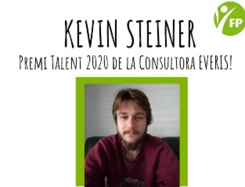 Kevin Steiner guardonat amb un dels premis Talent Everis 2020