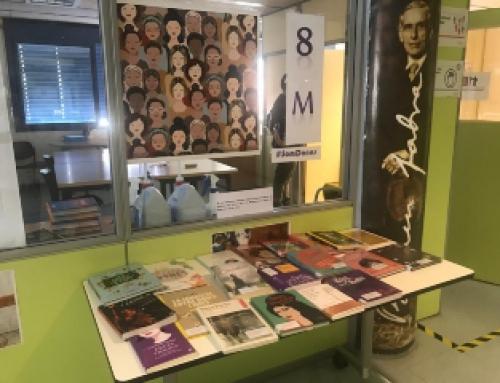 A l'ESO exposem títols de dones escriptores