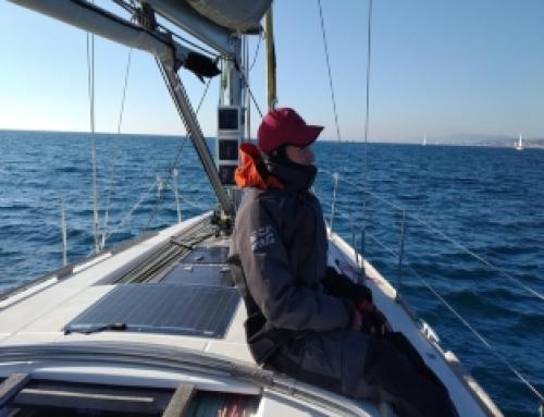 Roger Boixet, exalumne d'FP de l'escola, es proposa creuar l'Atlàntic tot sol amb veler