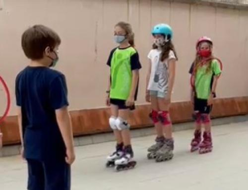 L'extraescolar de patinatge s'acomiada del curs